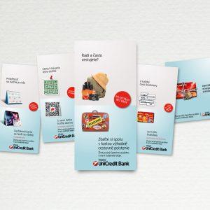 POS materiály Unicredit Bank