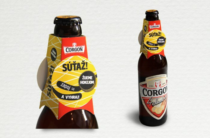 Neck hanger piva Corgoň