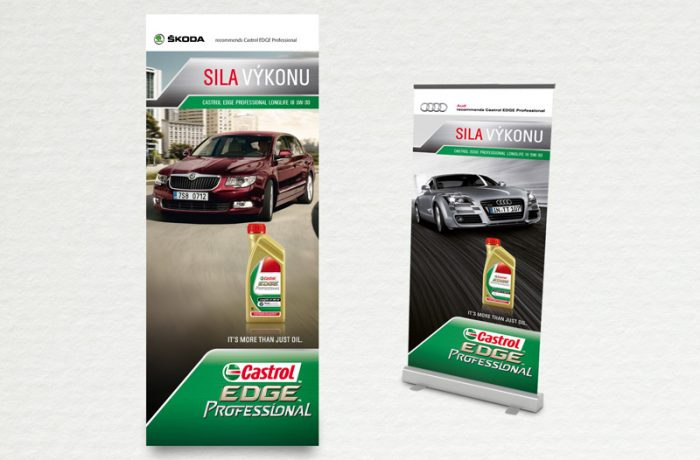 Roll Up Castrol EDGE