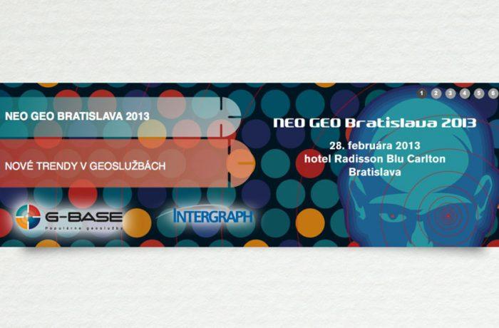 Internetový banner NEO GEO