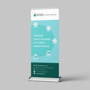 Roll Up Ditec Commerce